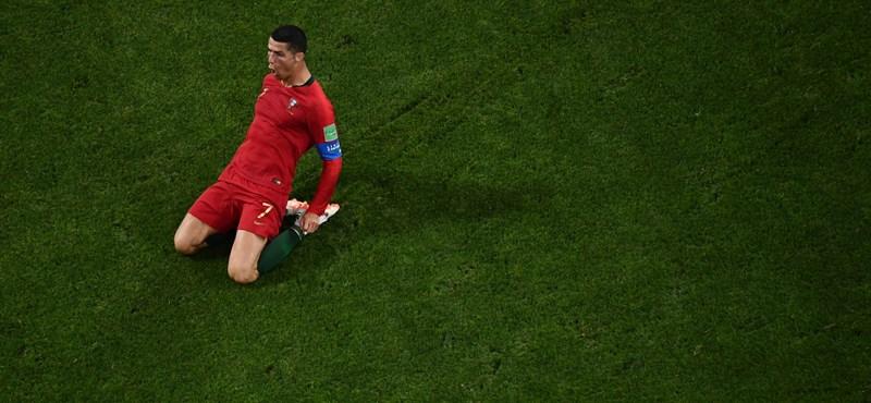 BL: Cristiano Ronaldo piros lapot kapott