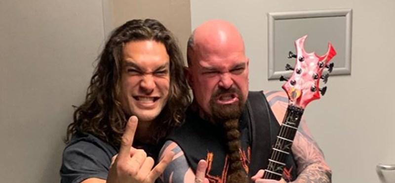 Jason Momoa most a Slayer budapesti koncertjére ugrott be