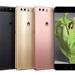 Itt a Huawei új csúcstelefonja, a P10