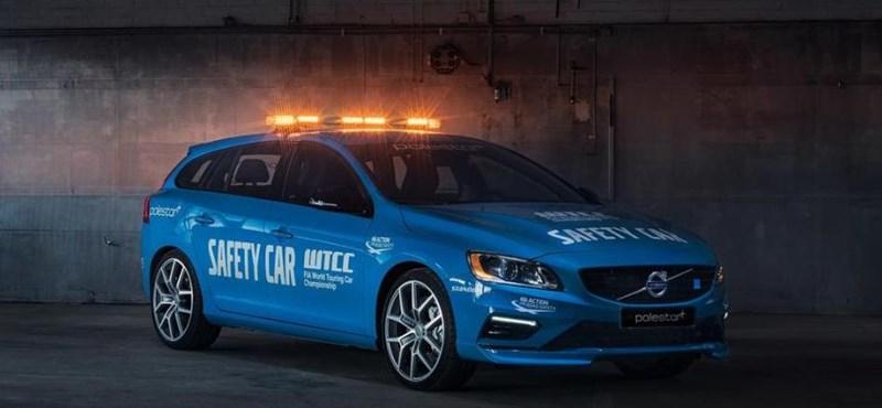 Egy családi Volvo lesz Micheliszék felvezetőautója