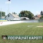 Focicsapat még nincs, de műfüves focipálya már van Magyarcsanádon