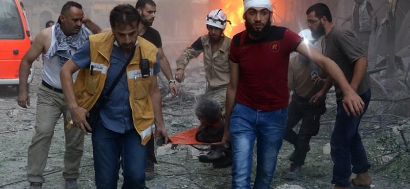 Gyújtóbombákat használt Szíriában Moszkva és Damaszkusz