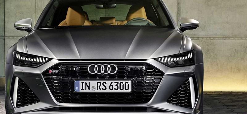 Magyarországon a 600 lóerős új Audi RS6 kombi, ami kicsit hibrid és nagyon V8 biturbó