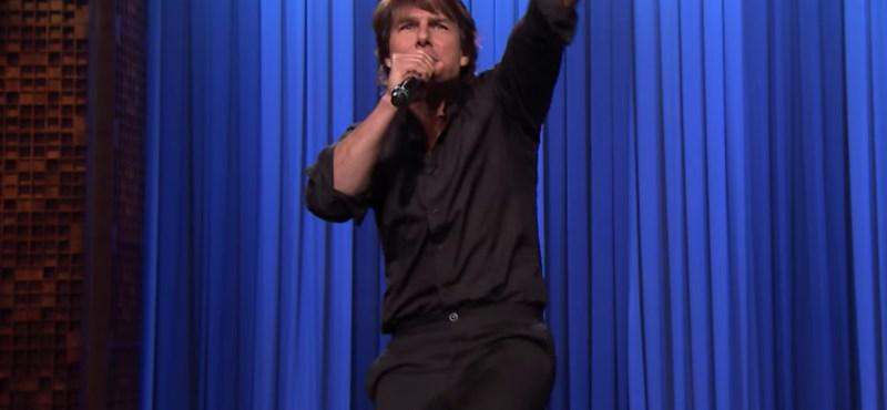 Videó: Tom Cruise ezúttal tátogásban alakított nagyot