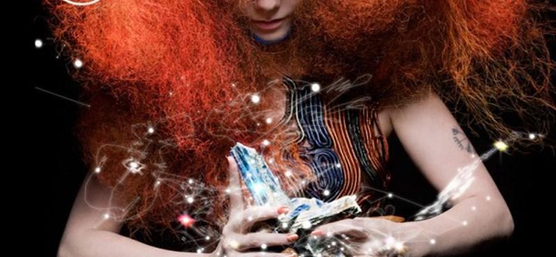 Pszichedelikus videóklippel tért vissza Björk