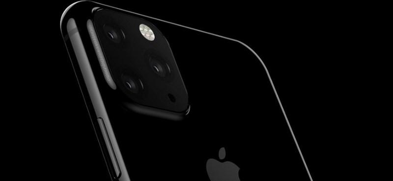 Úgy tűnik, három kamera lesz az idei iPhone-on