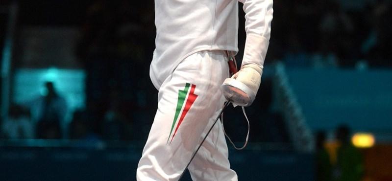Imre Géza nem párbajtőrözik tovább az olimpián
