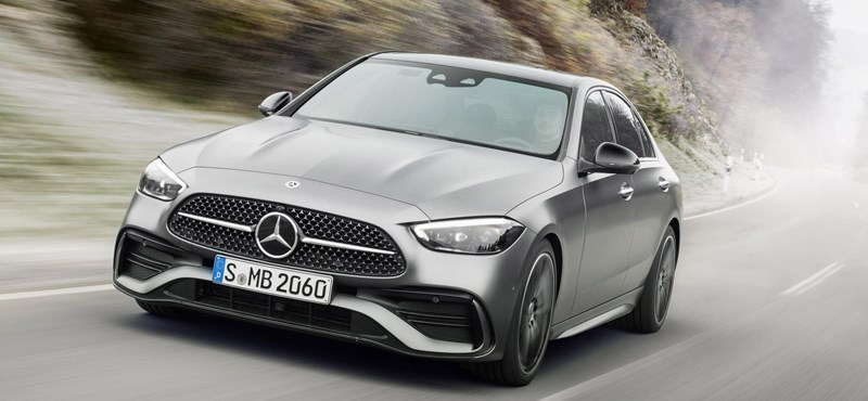 Here is the completely updated Mercedes C-Class