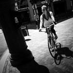 Budapest utcafotó: sietség a Kálvin téren