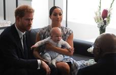 Archie-ról egy eddig nem látott képet tett közzé Harry herceg és Meghan Markle