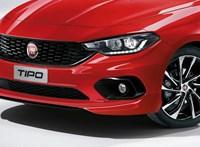 Itt az új Fiat Tipo Sport: Leheletnyi Ferrari-életérzés a széles közönségnek