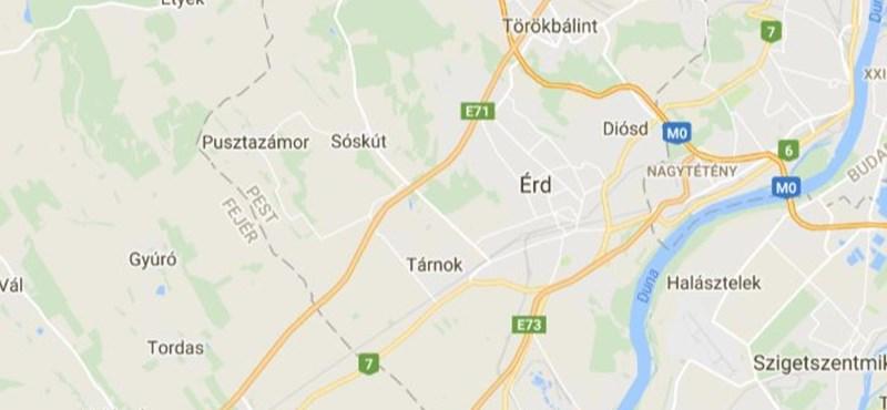 8 kilométeres, nagy dugó van az M7-esen Érdnél