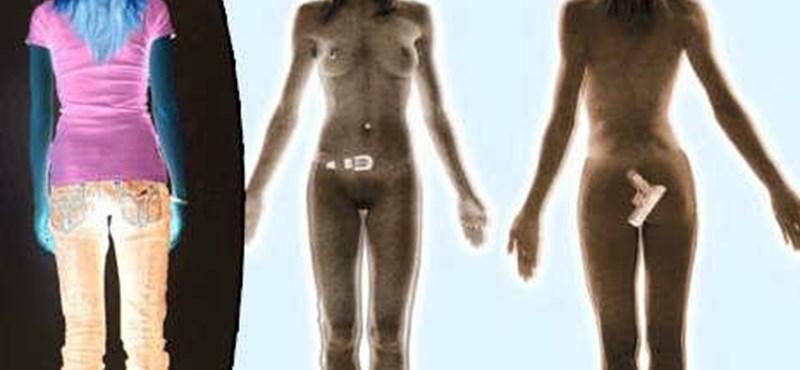 Meztelenül a gépben - Európában bukásra áll a testszkenner