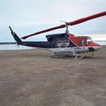 Helikopterbaleset - Kiemeltek 9 holttestet