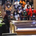 Élőben közvetítik George Floyd temetését