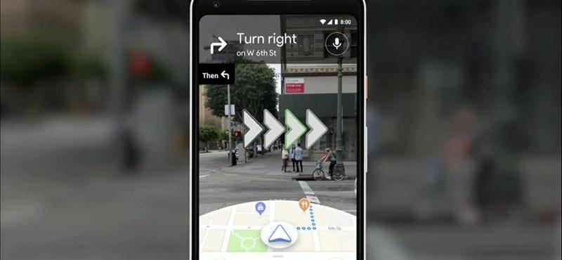 Magyarországra is elhozza sétálós csodafunkcióját a Google Maps