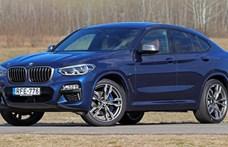 Selymes durvaság: teszten a BMW X4 M40i