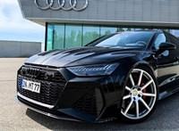 A megpiszkált új Audi RS7 340 km/h felett teljesít