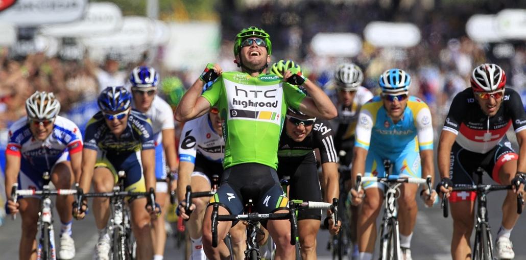 Tour de France 2011 - Nagyítás - Párizsban Mark Cavendish nyerte a tour utolsó, 21. szakaszát.