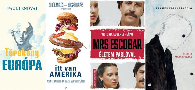 Escobar özvegyétől Sólyom Lászlóig – széles spektrumú közéleti könyvajánló