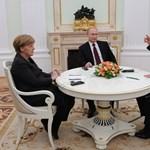 Öt órán át nyúzta egymást Merkel, Hollande és Putyin