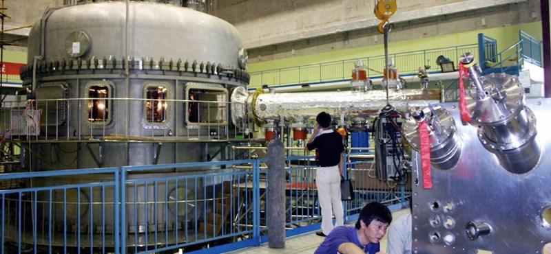 Kína csinált egy mesterséges Napot, amivel végtelen mennyiségű energiát termelnének