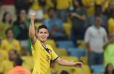Sérülés miatt idén már biztosan nem lép pályára James Rodriguez