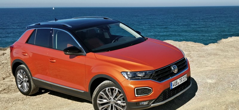 Golf helyett rock and roll: vezettük a VW T-Roc-ot
