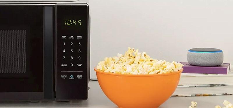 Megjött az Amazon 60 dollárért okos mikrosütője, amelyhez beszélni is lehet