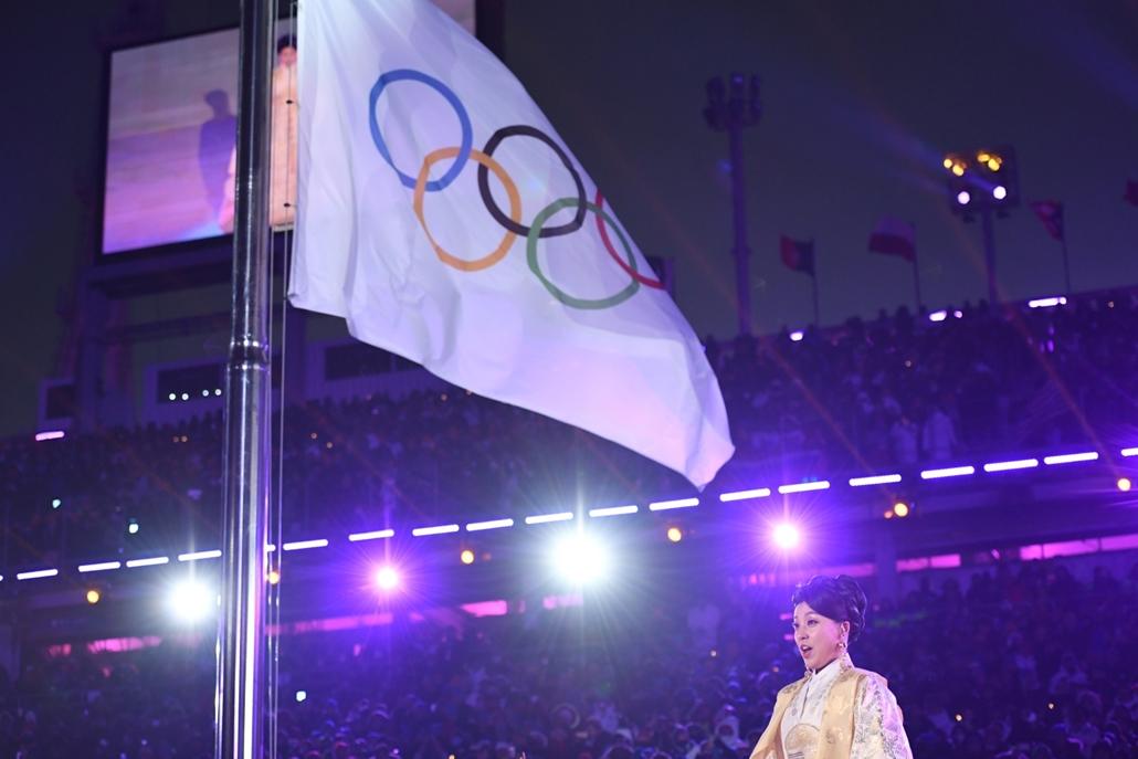 afp.18.02.09. - Téli Olimpia 2018 - Megnyitó himnusz