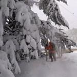 Áprilisi hóvihar: kétszázan ragadtak fent a galyatetői hotelben