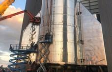 Valami közbejött, mégsem repül 18 kilométer magasra a SpaceX Csillaghajója