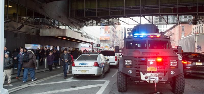 Terrorcselekménynek minősítették a New York-i robbantást