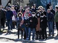 Ukrajnában 57 gyerek is elkapta a vírust