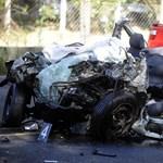 Videó készült a halálos ferihegyi baleset helyszínén