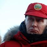 Méretes parasztlángos került elő Putyin uzsonnáskosarából
