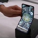Már videón is látni: ilyen lesz a Sharp összehajtható okostelefonja