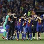 A Real nem állt sorfalat a bajnoknak, de a Barca-stáb megtette