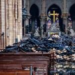 Rövidzárlat okozhatta a tüzet a Notre-Dame-ban