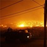 Tűzvész veszélyezteti Athént (képek és videó)