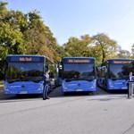 60 új Mercedes busszal lepte meg a kormány Budapestet