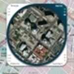 Különleges nagyító internetes térképekhez