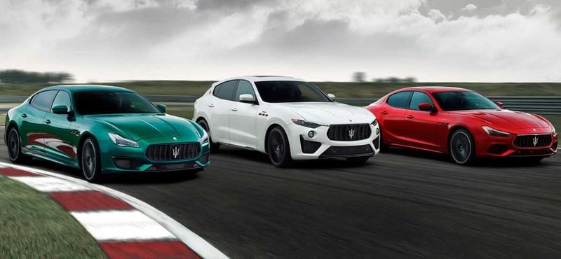 Magyarországon a legújabb 580 lóerős Maseratik