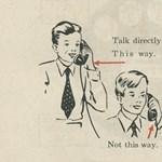 Zseniális ábrákat találtunk: így magyarázták el 1951-ben a telefon használatát