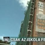 Csak félig újítják fel a budapesti iskolát, mert az állam szerint nem elég hátrányos helyzetű