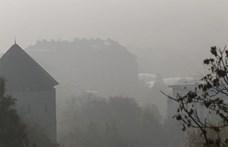 Több városban is egészségtelen a levegő