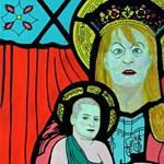 DrMáriásnak tökéletes víziója van Schmidt Szűz Máriáról és kisdedéről, Ungár Péterről