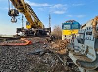 Pénteken újraindulhat a forgalom az újfehértói vonatbaleset helyszínén