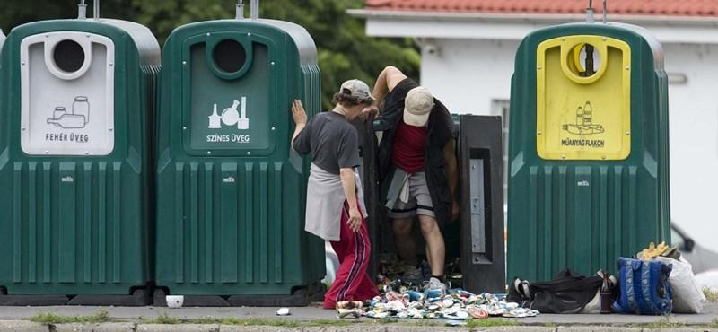 Túl sok a szemét körülöttük - inkább megszüntetik a szelektív hulladékgyűjtőket