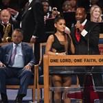 Úgy tűnik, Ariana Grande melle nagyon útban volt